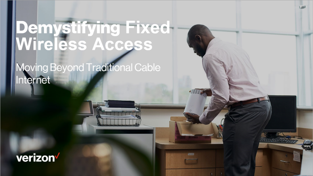Demystifying Fixed Wireless Access Part 2