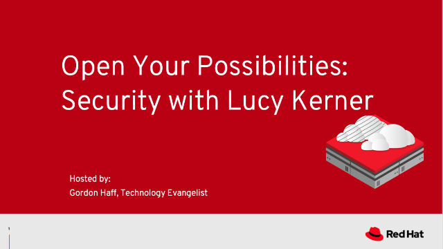 Open Your Possibilities: Security with Lucy Kerner