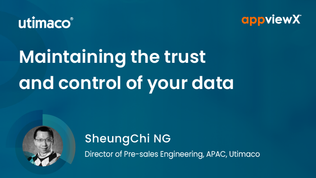 Maintaining The Trust and Control of Your Data
