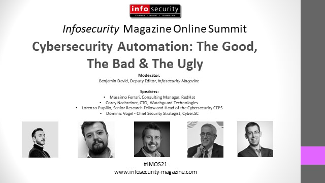 #IMOS21 Cybersecurity Automation: The Good, The Bad & The Ugly