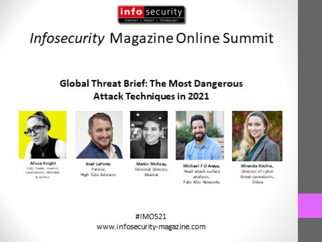 #IMOS21 Global Threat Brief: The Most Dangerous Attack Techniques in 2021