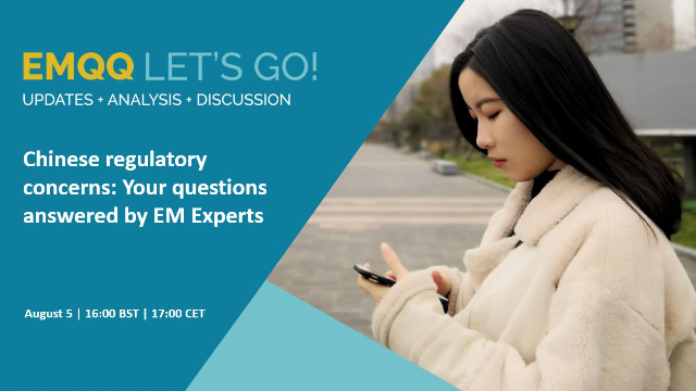 Chinese regulatory concerns: Your questions answered by EM Experts