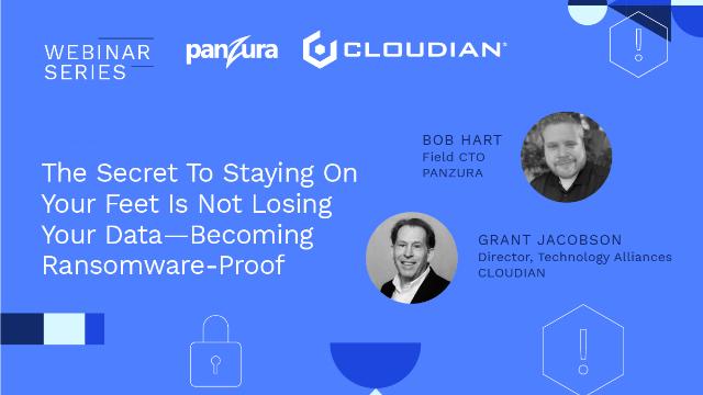 The Secret To Staying Standing Is Not Losing Your Data: Become Ransomware-Proof