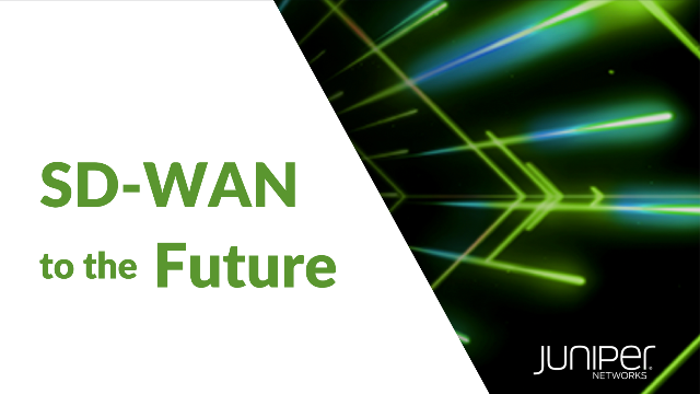 SD-WAN to the Future