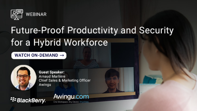 Future-Proof Productivity & Security for Hybrid Workforce
