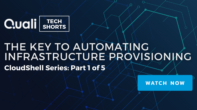 The Key to Automating Infrastructure Provisioning