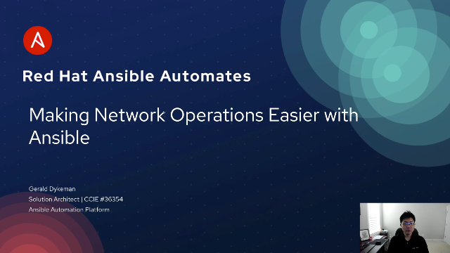 Making Network Operations Easier with Ansible