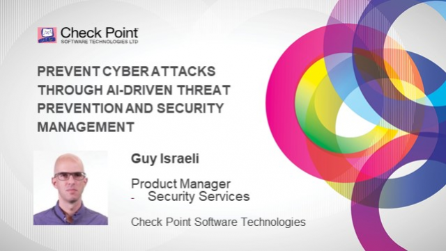 Prevent Cyber Attacks through AI-Driven Threat Prevention & Security Management