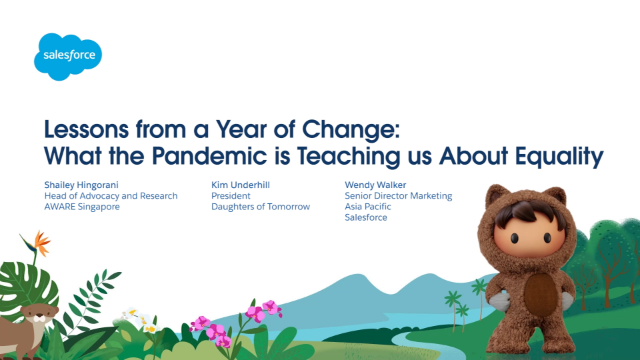 Lessons from a Year of Change. What the Pandemic is Teaching us About Equality