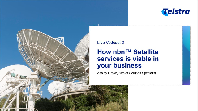 How nbn™ Satellite services is viable in your business