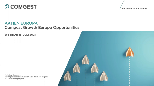 Comgest Growth Europe Opportunities July 2021