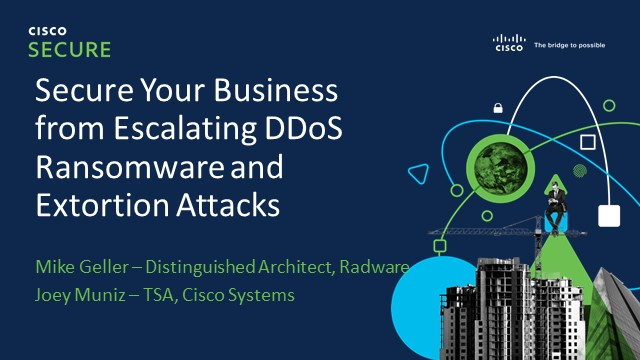 Secure Your Business from Escalating DDoS Ransomware and Extortion Attacks