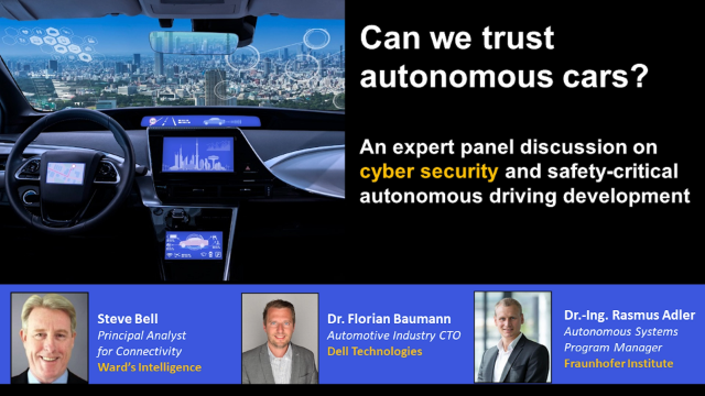 Can We Trust Autonomous Cars? An Expert Panel Discussion on ADAS Cybersecurity