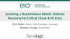Surviving a Ransomware Attack:  Disaster Recovery for Critical Cloud & PC Data