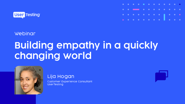 Building empathy in a quickly changing world