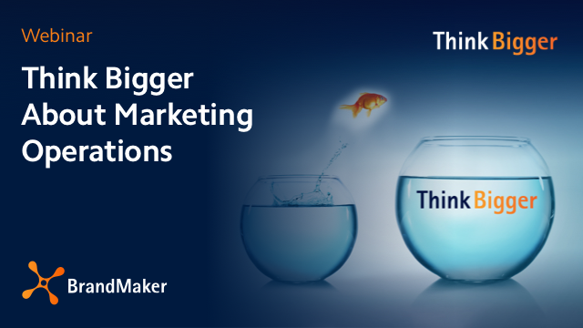 Think Bigger About Marketing Operations