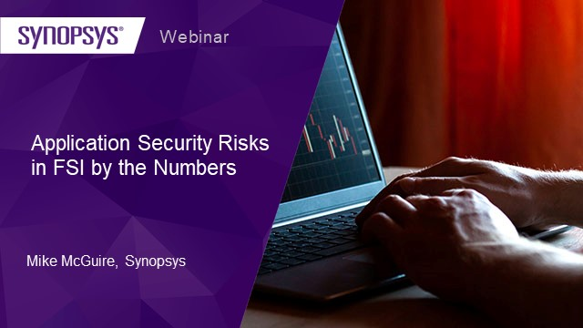 Application security risks in FSI by the numbers
