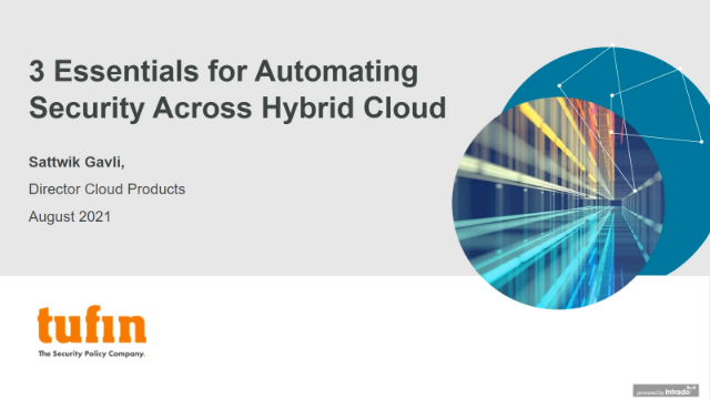 3 Essentials for Automating Security Across Hybrid Cloud