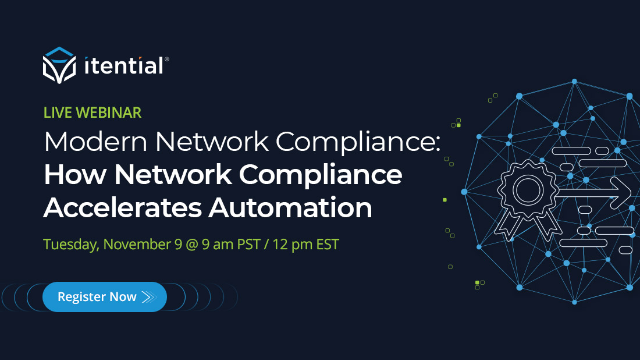 Modern Network Compliance: How Network Compliance Accelerates Automation