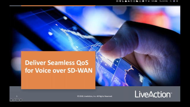 Deliver Seamless QoS for Voice over SD-WAN Replay