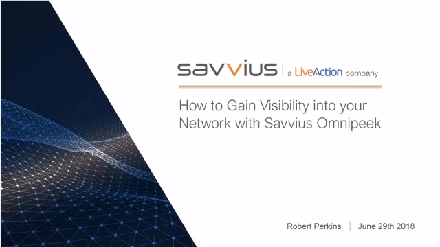 Gaining Network Visibility Into Virtualized Environments