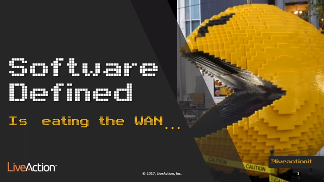 Software-Defined is Eating the WAN