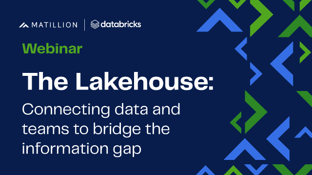 The Lakehouse: Connecting data and teams to bridge the information gap