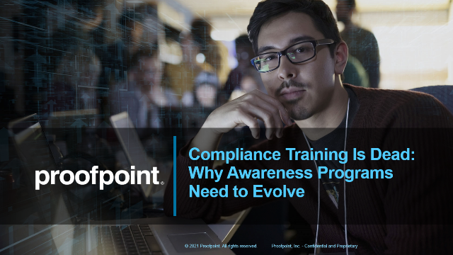Compliance Training Is Dead - Why Awareness Programs Need to Evolve