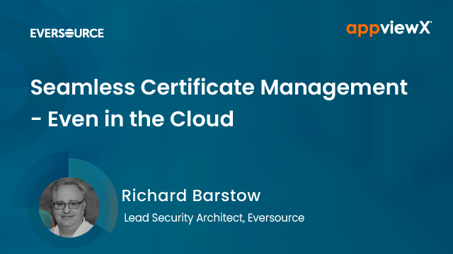 Seamless Certificate Management - Even in the Cloud