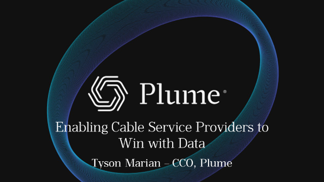 Enabling cable service providers to win with data