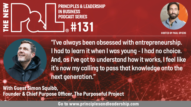 The New P&L speaks to Simon Squibb, Founder, The Purposeful Project