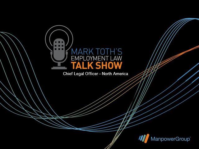 Mark Toth's Employment Law Talk Show