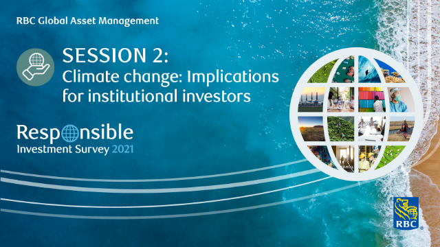 Climate change: Implications for institutional investors