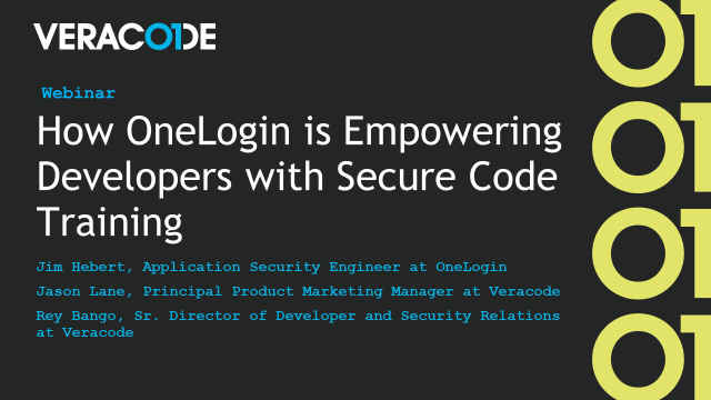 How OneLogin is Empowering Developers with Secure Code Training