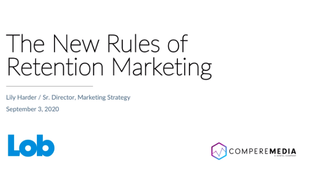 The New Rules of Retention Marketing