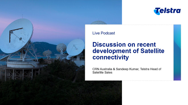 Discussion on recent development of Satellite connectivity
