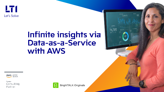 Infinite Insights via Data-as-a-Service with AWS