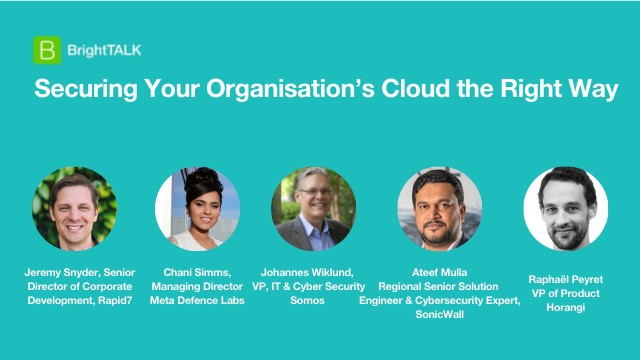 Securing Your Organisation's Cloud the Right Way