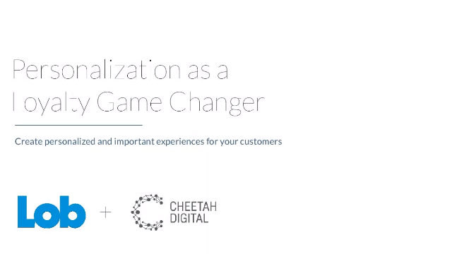 Personalization as a Loyalty Game Changer