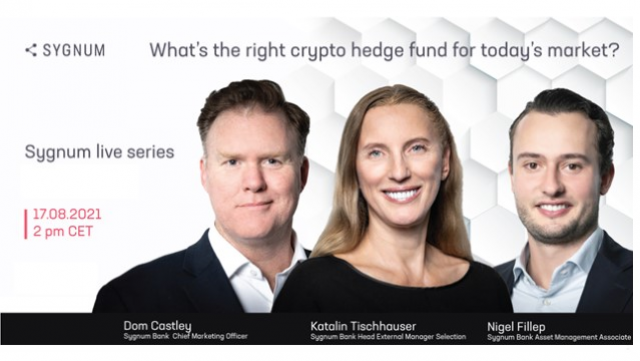 What's the right crypto hedge fund for today's market?