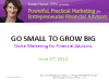 Go Small to Grow Big:  Niche Marketing for Financial Advisors