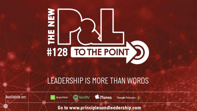The New P&L TO THE POINT on Why Leadership Is About More Than Just Words