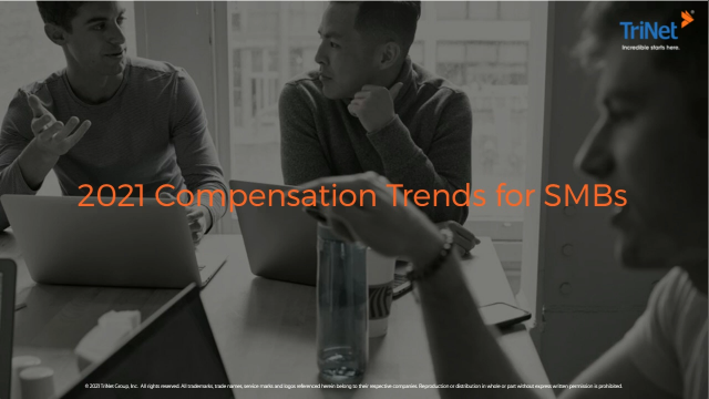 2021 Compensation Trends for SMBs