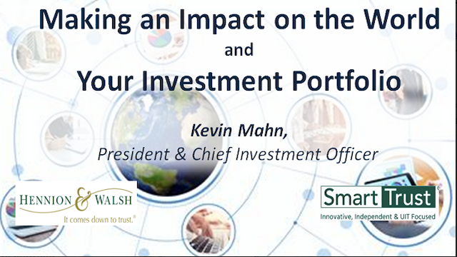 Making an Impact on the World and Your Investment Portfolio