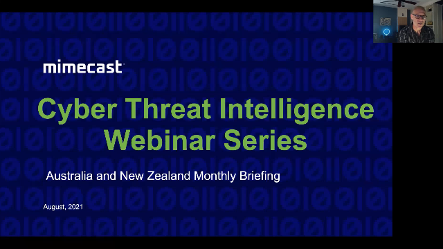 Ep 8 - Australia and NZ Cyber Threat Intelligence Briefings