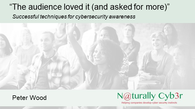Successful techniques for cybersecurity awareness