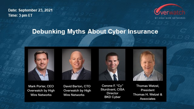 Debunking Myths About Cyber Insurance