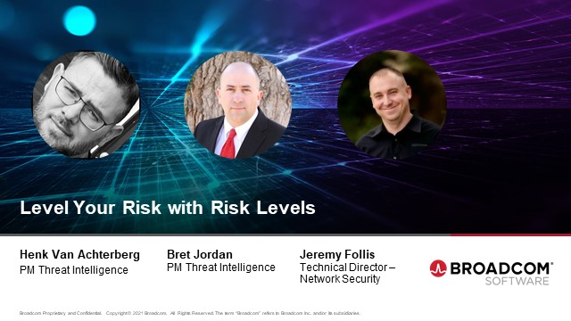 Level Your Risk with Risk Levels