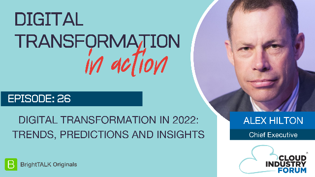 Digital Transformation in 2022: Trends, Predictions and Insights