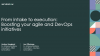 From intake to execution: Boosting your Agile and DevOps initiatives